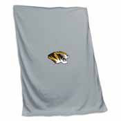 Missouri Gray Sweatshirt Blanket