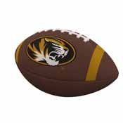 Missouri Team Stripe Official-Size Composite Football