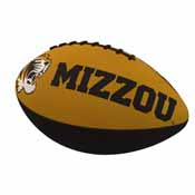 Missouri Combo Logo Junior-Size Rubber Football