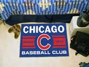 Chicago Cubs Baseball Club Starter Rug 19x30
