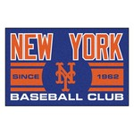 New York Mets Baseball Club Starter Rug 19x30