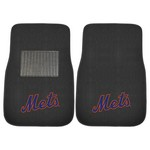 MLB - New York Mets 2-pc Embroidered Car Mat Set