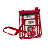 NC State Gameday Clear Crossbody