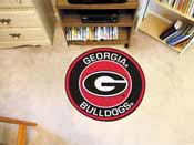 University of Georgia Roundel Mat