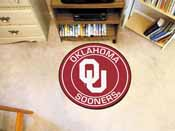 University of Oklahoma Roundel Mat