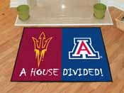 Arizona State / Arizona House Divided Rug 33.75x42.5
