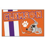 Clemson Uniform Inspired Starter Rug 19x30