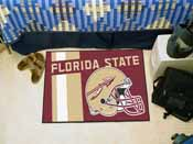 Florida State Uniform Inspired Starter Rug 19x30