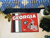 Georgia Uniform Inspired Starter Rug 19x30