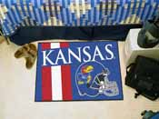 Kansas Uniform Inspired Starter Rug 19x30