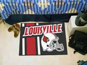 Louisville Uniform Inspired Starter Rug 19x30