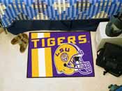 Louisiana State Uniform Inspired Starter Rug 19x30