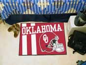 Oklahoma Uniform Inspired Starter Rug 19x30