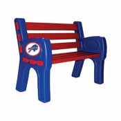 Buffalo Bills Park Bench
