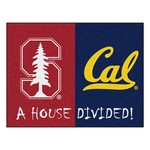 Stanford - UC-Berkeley House Divided Rugs 33.75x42.5