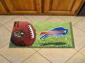 NFL Buffalo Bills Scraper Mat 19x30