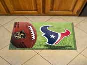 NFL Houston Texans Scraper Mat 19x30