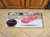 NFL Detroit Red Wings Scraper Mat 19x30