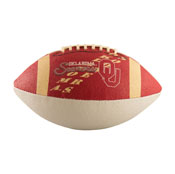 Oklahoma Junior-Size Rubber Football