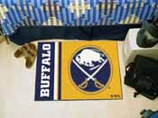 Buffalo Sabres Uniform Inspired Starter Rug 19x30