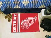 Detroit Red Wings Uniform Inspired Starter Rug 19x30
