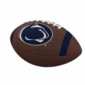 Penn State Team Stripe Official-Size Composite Football