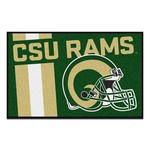 Colorado State University Uniform Inspired Starter Rug 19x30