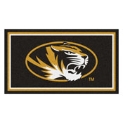 University of Missouri 3' x 5' Rug