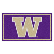 University of Washington 3' x 5' Rug
