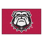 Georgia Bulldog Starter Rug 19x30 - Red