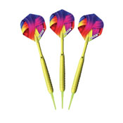 Elkadart Neon Yellow Soft Tip Darts 18 Grams