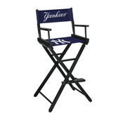 New York Yankees Bar Height Directors Chair