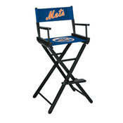 New York Mets Bar Height Directors Chair