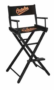 Baltimore Orioles Directors Chair-Bar Height