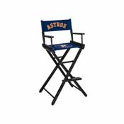 Houston Astros Directors Chair-Bar Height
