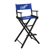 Los Angeles Dodgers Directors Chair-Bar Height