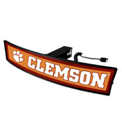Clemson University Light Up Hitch Cover 21x9.5