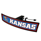 University of Kansas Light Up Hitch Cover 21x9.5