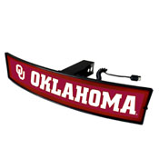 University of Oklahoma Light Up Hitch Cover 21x9.5