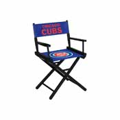 Chicago Cubs Table Height Directors Chair