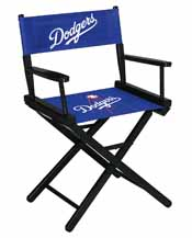 Los Angeles Dodgers Table Height Directors Chair