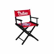 Philadelphia Phillies Table Height Directors Chair