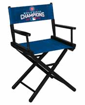 Chicago Cubs World Series Table Height Directors Chair