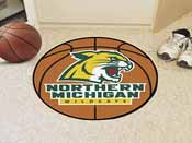 Northern Michigan Basketball Mat 27 diameter
