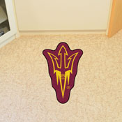 Arizona State Mascot Mat with Sparky Logo