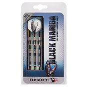 Elkadart Black Mamba Tungsten Soft Tip Darts Thin Barrel