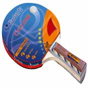 Garlando Cyclone 4 Star Table Tennis Paddle