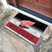 NHL - Detroit Red Wings 18x30 Crumb RubberDoor Mat