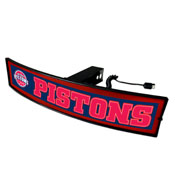 NBA - Detroit Pistons Light Up Hitch Cover 21x9.5
