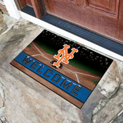 MLB - New York Mets 18x30 Crumb RubberDoor Mat